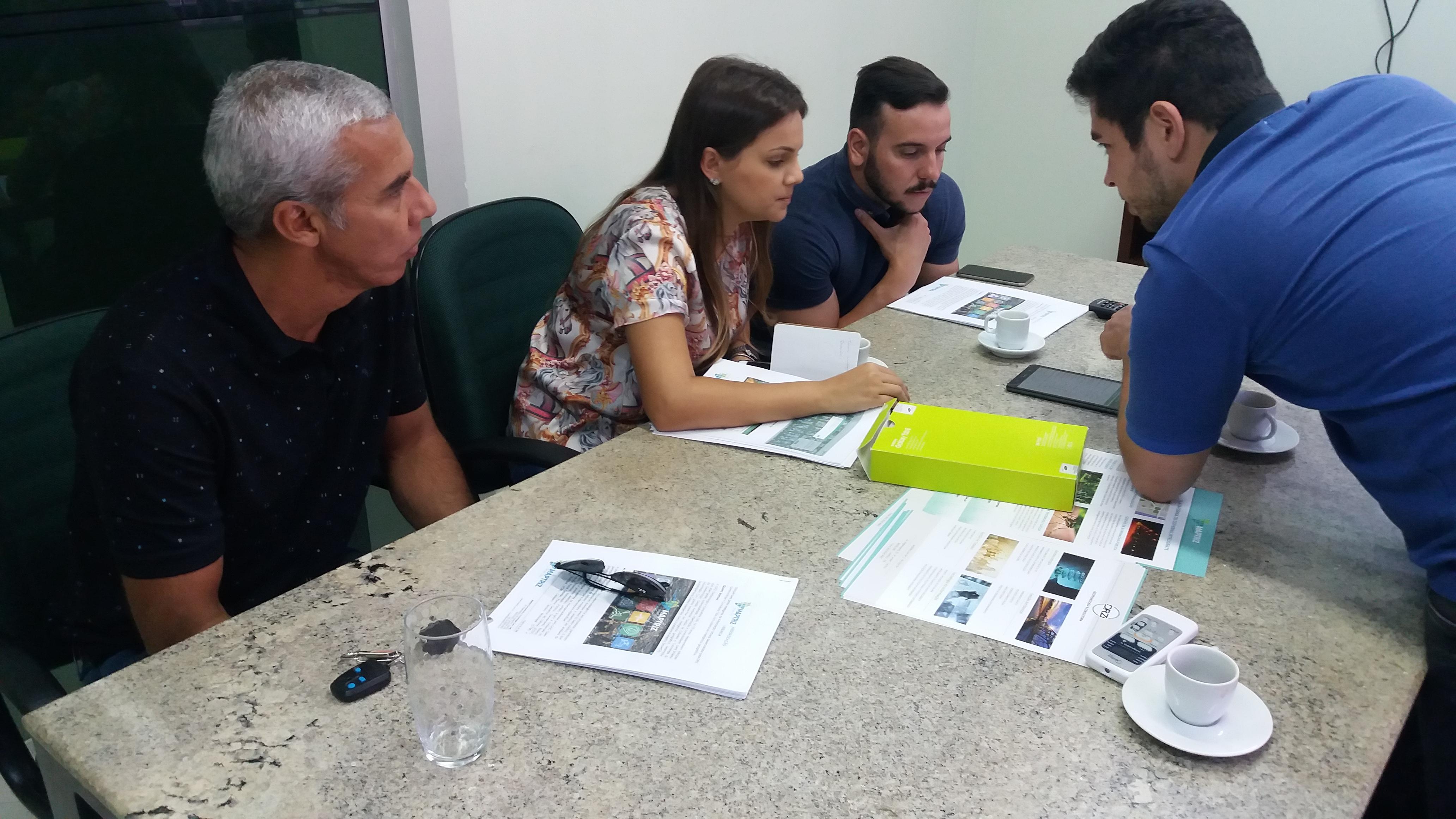 Equipe da secretaria do Meio Ambiente participa de treinamento em Smart Arborização na DRZ