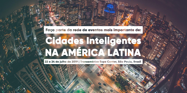 Vamos participar do maior evento de cidades inteligentes da América Latina.