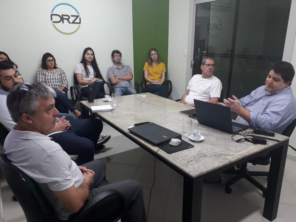 GlobalGeo conhece tecnologias da DRZ Gestão de Cidades.